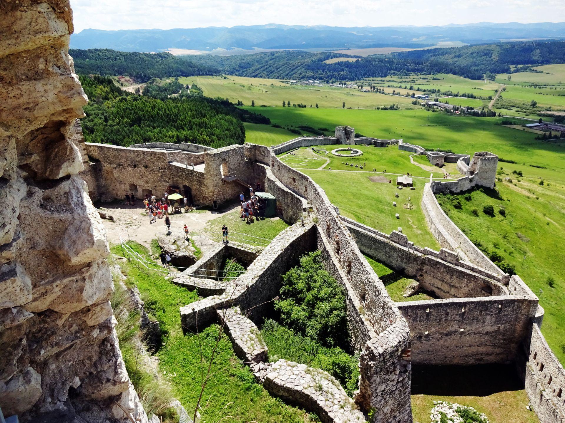spiski zamek - wycieczka szkolna na słowację